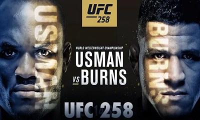 UFC 258 - Direct Live Stream et Résultats des combats - Kamaru Usman vs Gilbert Burns