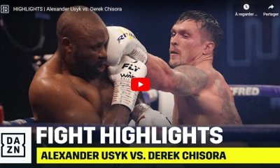 VIDEO HL - Oleksandr Usyk vs Dereck Chisora