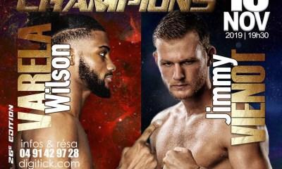 Jimmy VIENOT vs Wilson VARELA 2 à la Nuit des Champions !