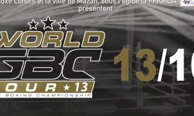 World GBC Tour 2018 - Les Résultats