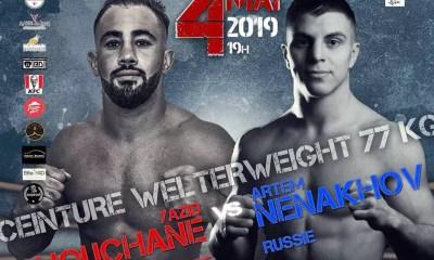 OCTOFIGHT 3 - Yazid CHOUCHANE Combattra pour la ceinture des -77kg !