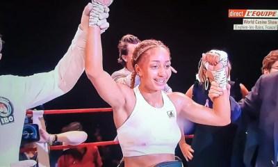 Estelle YOKA MOSSELY conserve sa ceinture mondiale IBO