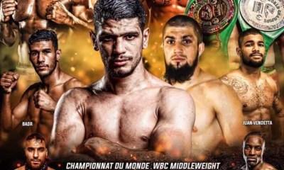 PSM Fight Night - Youssef BOUGHANEM vs Sayfullah KHAMBAKHADOV en championnat du Monde WBC