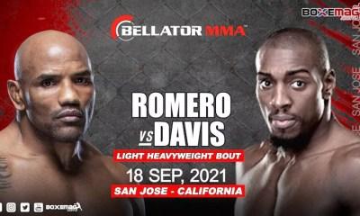Yoel Romero affrontera Phil Davis pour ses débuts au Bellator