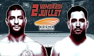 Mehdi Baghdad vs Thibault Gouti: Les deux vétérans de l'UFC face à face le 2 juillet