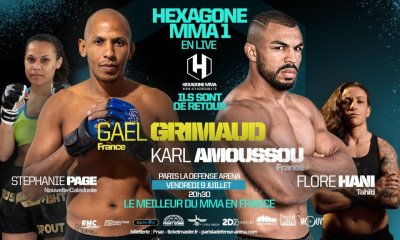 Hexagone MMA 1 - Les résultats des combats