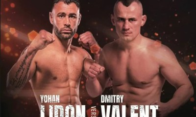 Yohan Lidon vs Dmitry Valent 2 en Bare Knuckle Muay Thai à Dubai
