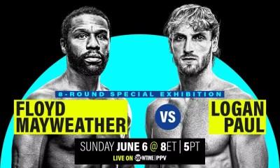 Floyd Mayweather vs Logan Paul - Comment regarder le combat en direct à la télévision