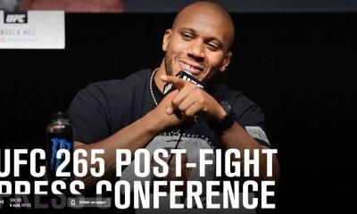 UFC 265 - Gane vs Lewis - Regardez la conférence de presse d'après combat en direct