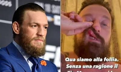 Conor McGregor Italie