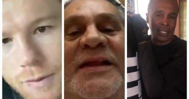#VIDEO / Canelo, Leonardy @wbcmoro envían mensajes de aliento a Roberto Durán