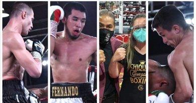 """Chiquita Boxing superó las expectativas en Tlaxcala, con """"Choque sin fronteras"""""""