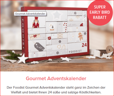 foodist Advenzskalender Boxenwelt24.de