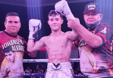 Johan Alvarez, sobrino de Canelo, obtiene su segunda victoria por nocaut