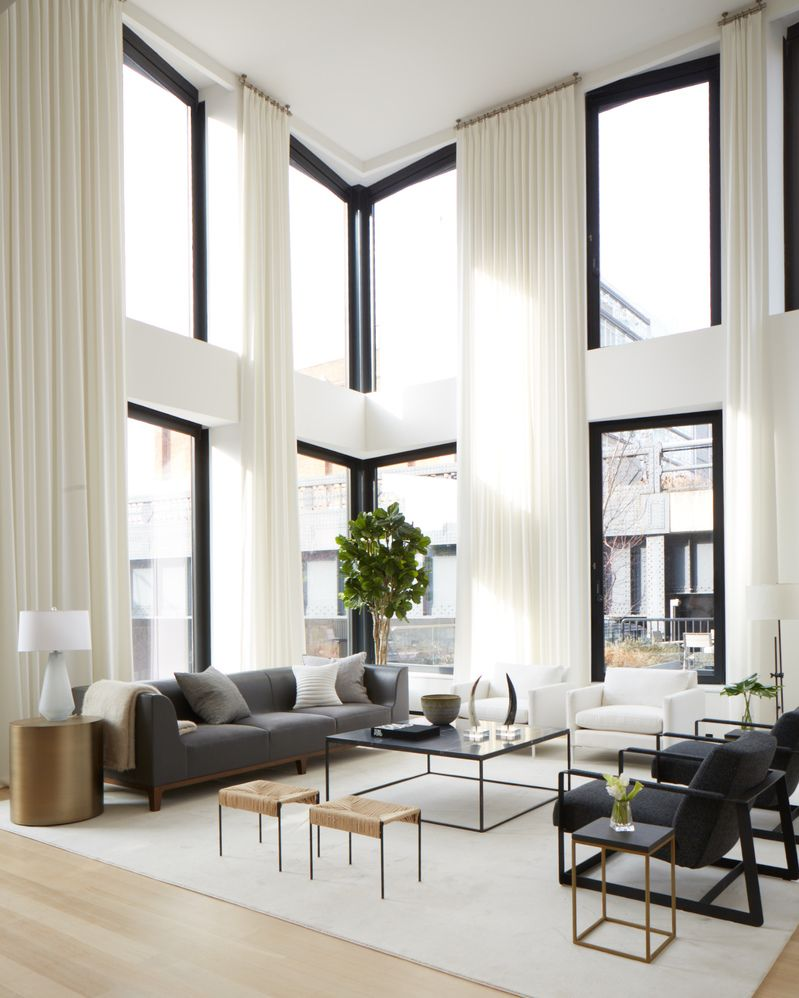 Minimalist Living Room Wallpaper