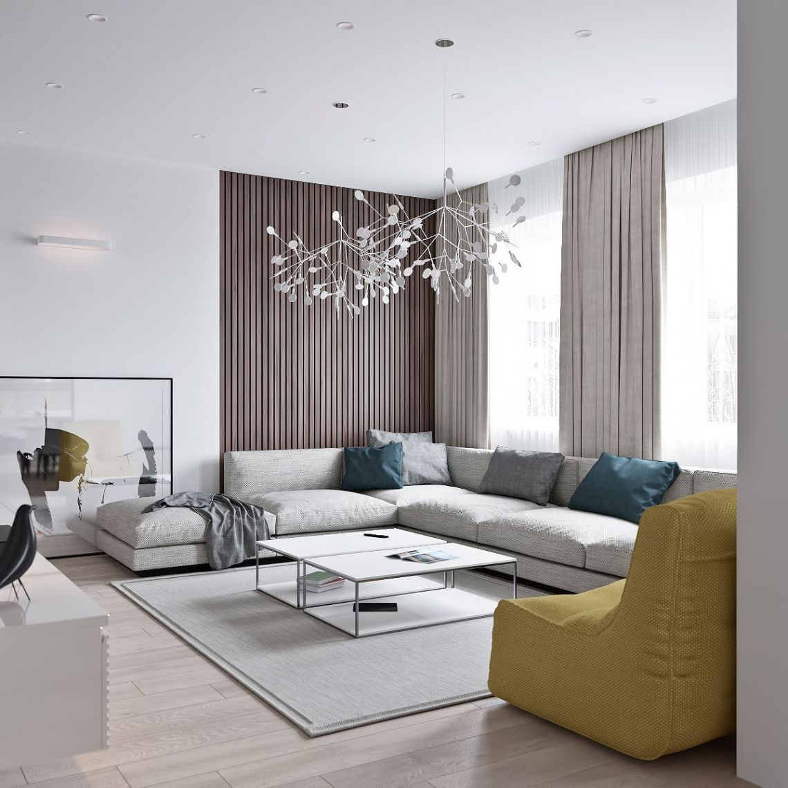 Minimalist Living Room Chair