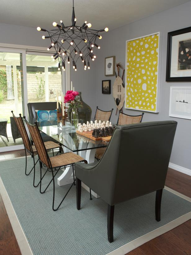 pictures of modern dining rooms