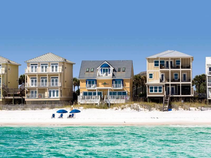 quiet beach house florida