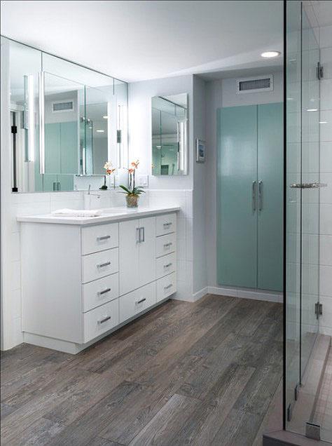 bathroom decor wall ideas Floor Planks