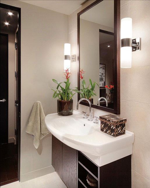 bathroom decorating Lighting Fixture Upgrade