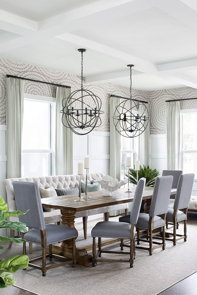 Rustic Dining Room Table With Leaves