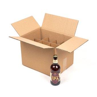 mail order box single bottle showing