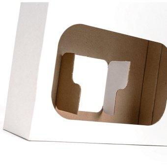 white gift pack flaps