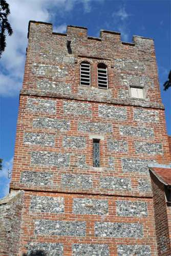 The tower, St Andrew's Boxford