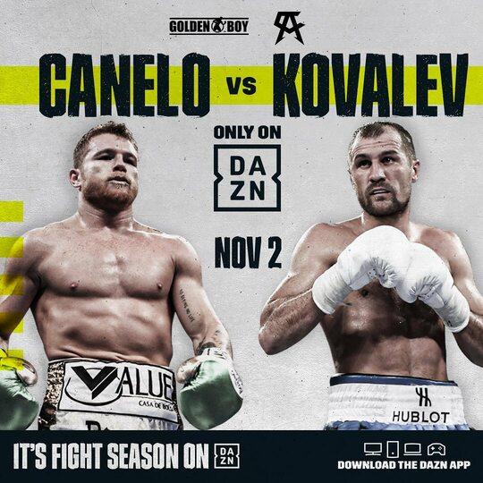 Официально: Альварес – Ковалев пройдет 2 ноября в Лас-Вегасе