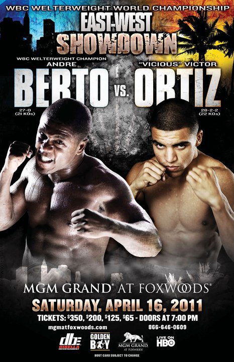 Andre Berto vs. Victor Ortiz