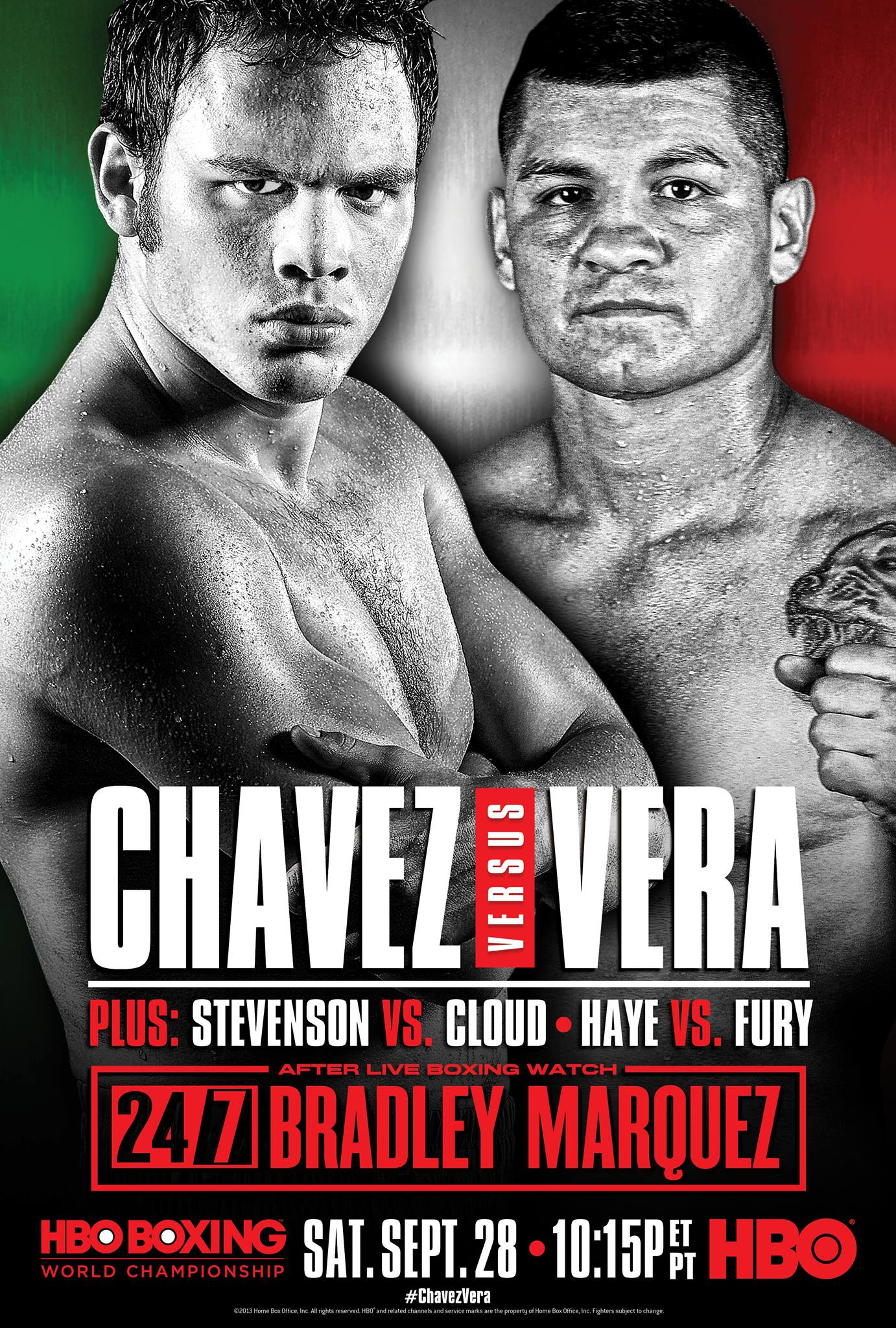 Julio Cesar Chavez Jr. vs. Bryan Vera