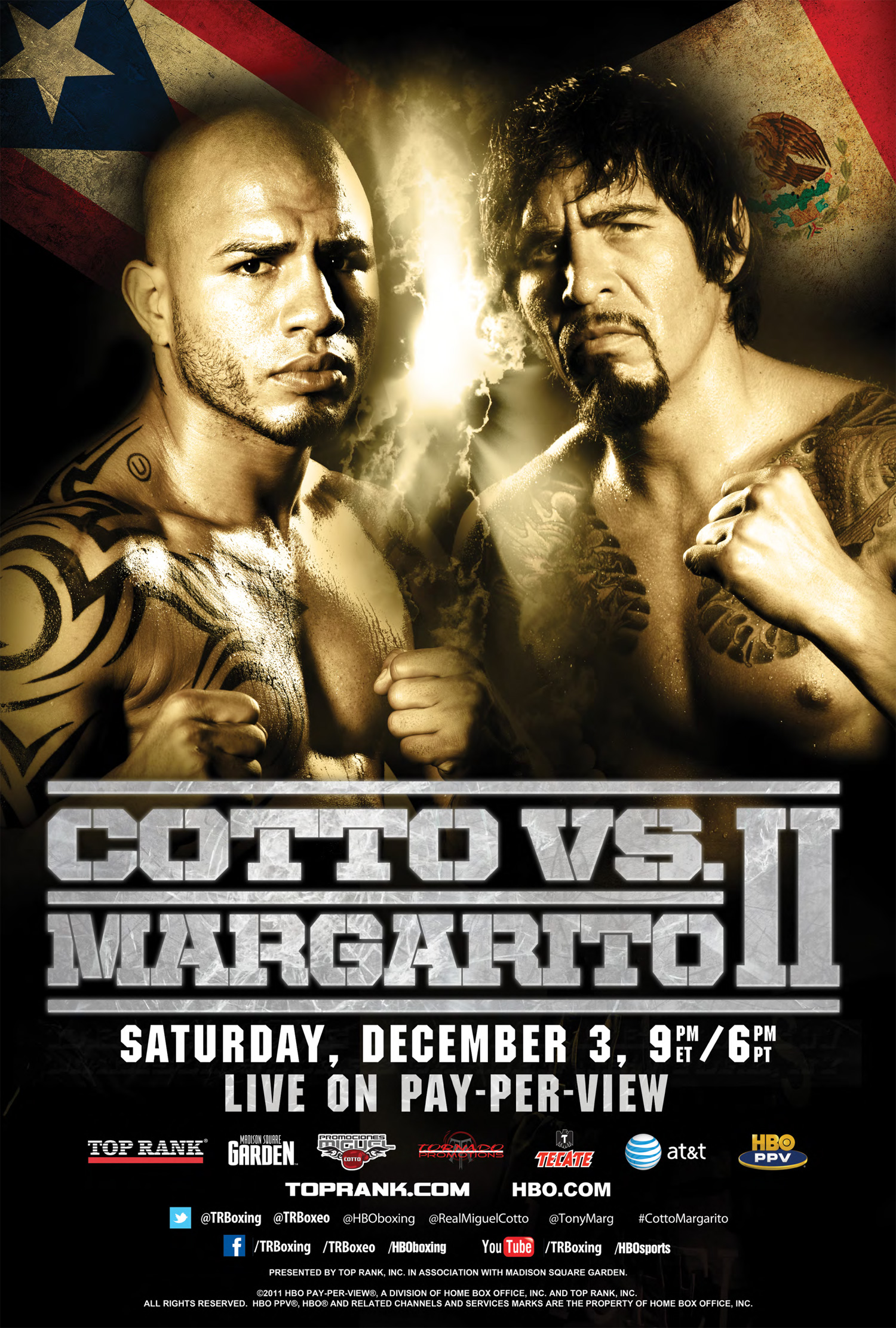 Miguel Cotto vs. Antonio Margarito II