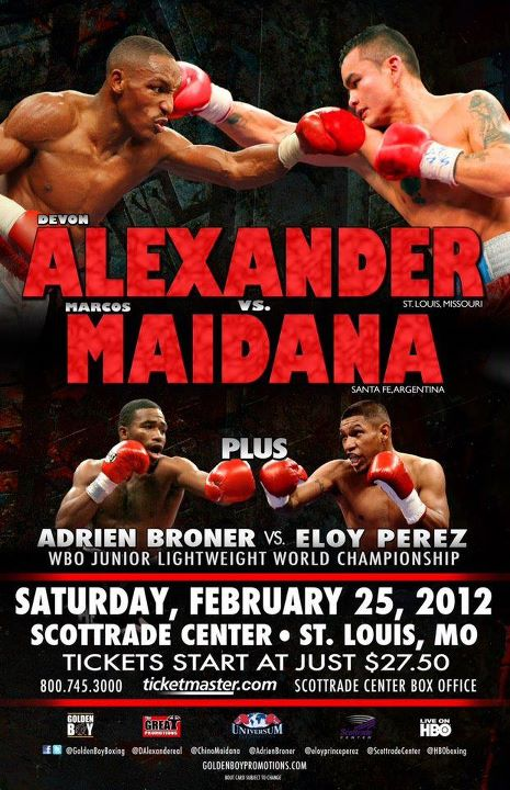 Devon Alexander vs. Marcos Maidana