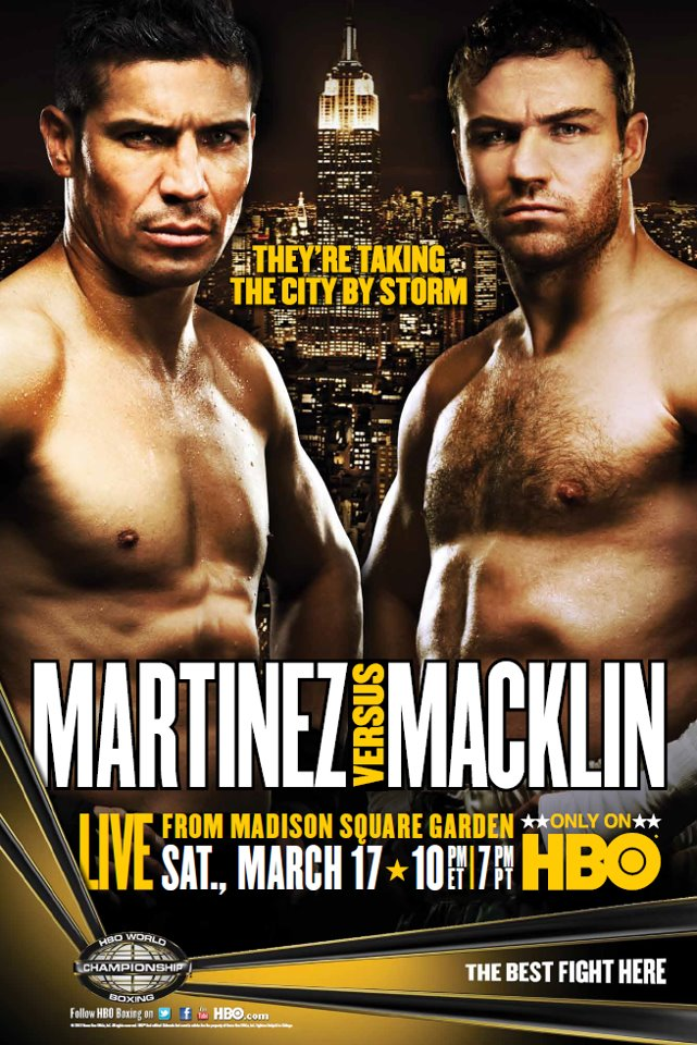 Sergio Martinez vs. Matthew Macklin