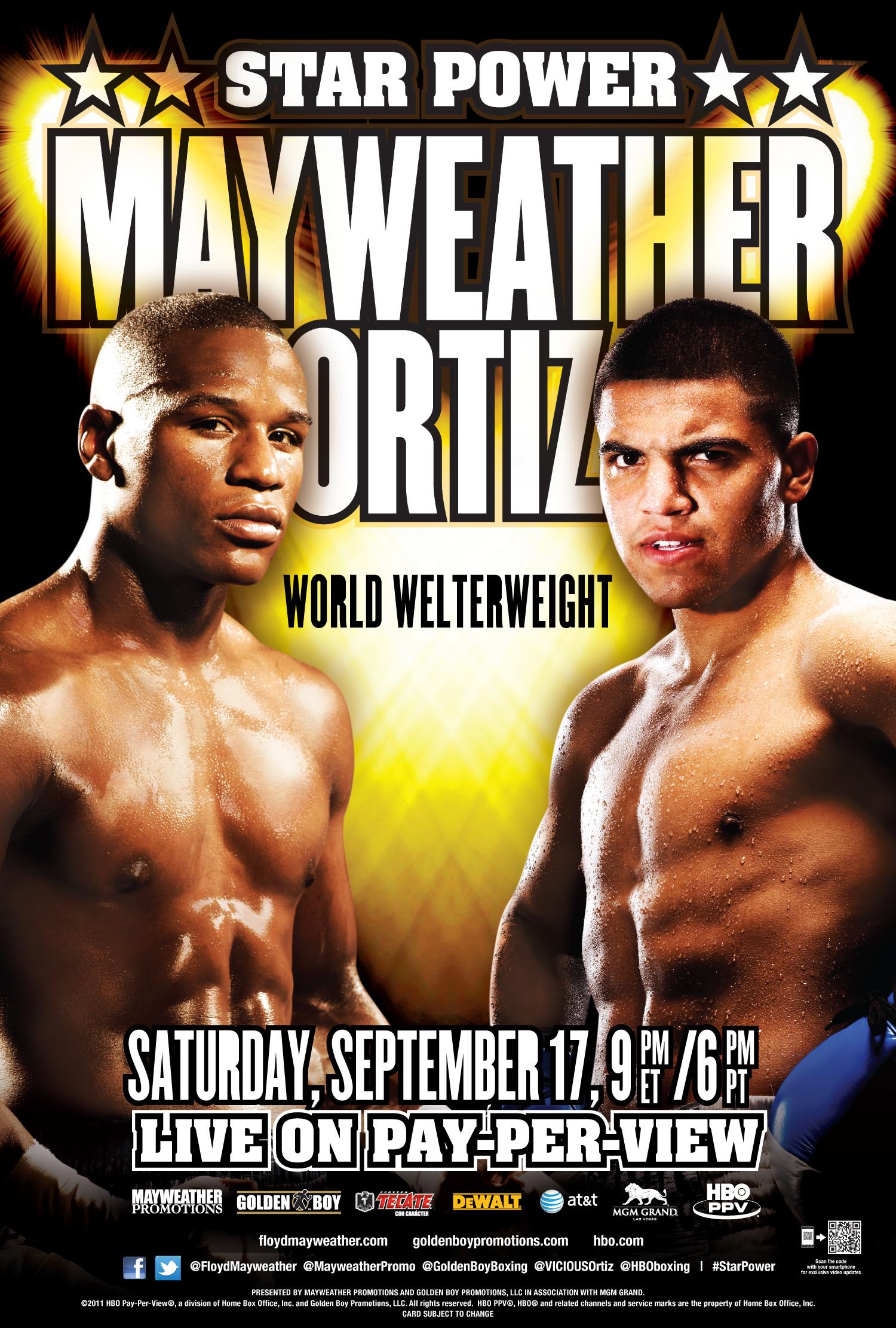 Floyd Mayweather Jr. vs. Victor Ortiz