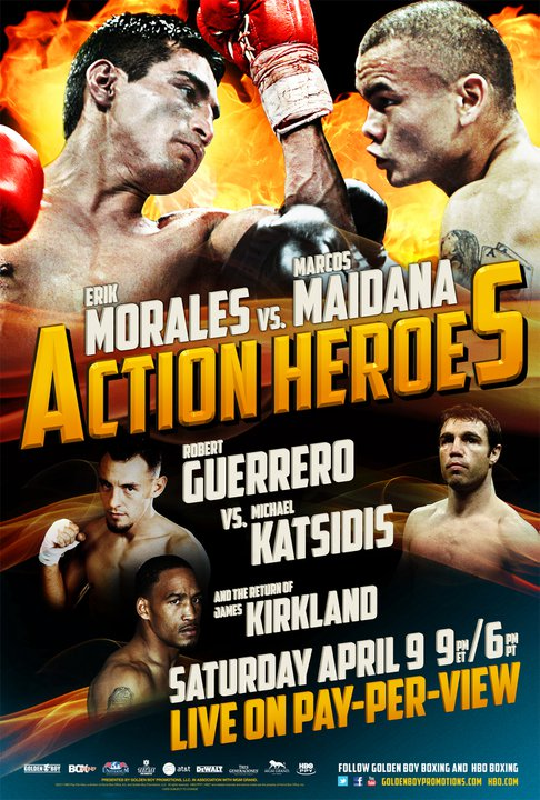 Erik Morales vs. Marcos Maidana