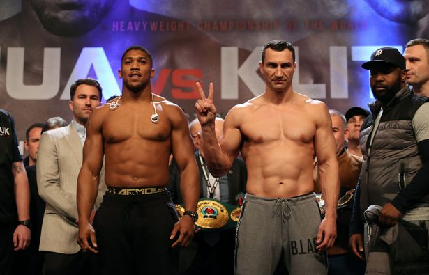 Anthony Joshua Klitschko