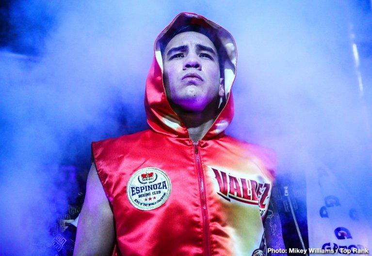 - Latest Oscar Valdez