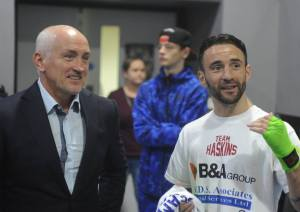 Lee Haskins Barry McGuigan