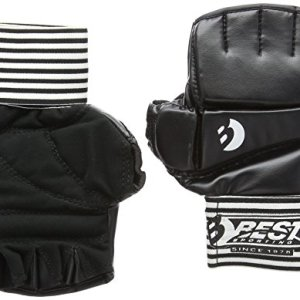 Best Sport Ball Gel Competition Gloves - Black, Medium