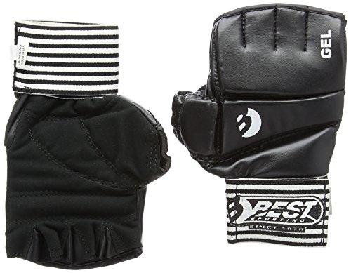 Best Sport Ball Gel Competition Gloves - Black, Medium