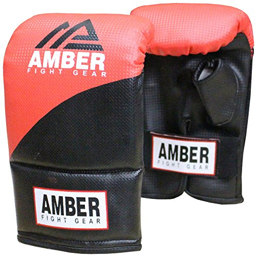 Amber Fight Gear Boxing Bag-Multi-Colour, Large