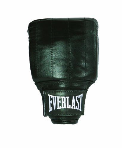 Everlast Training Bag Gloves Boxing Gloves Black - Medium