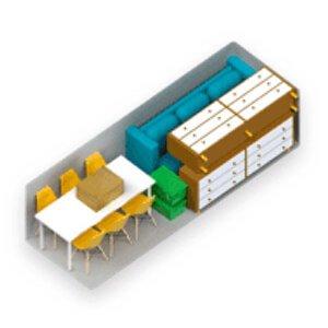 Storage furniture large
