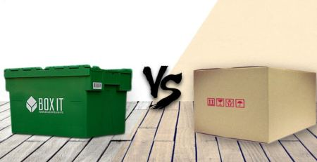 Buy cartons for moving or renting plastic