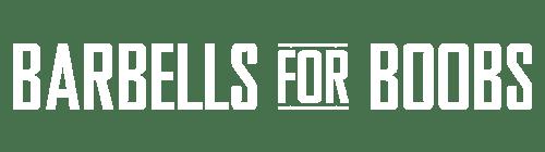 Barbells for Boobs Logo