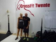 Me with CrossFit Twente owner Jan