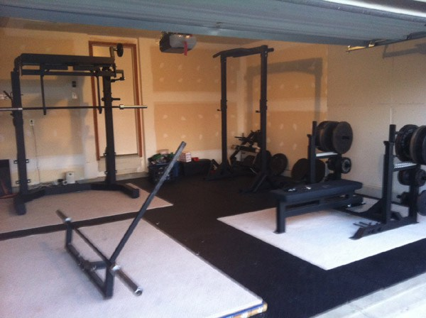 crossfit garage gym, Modern Crossfit home gym