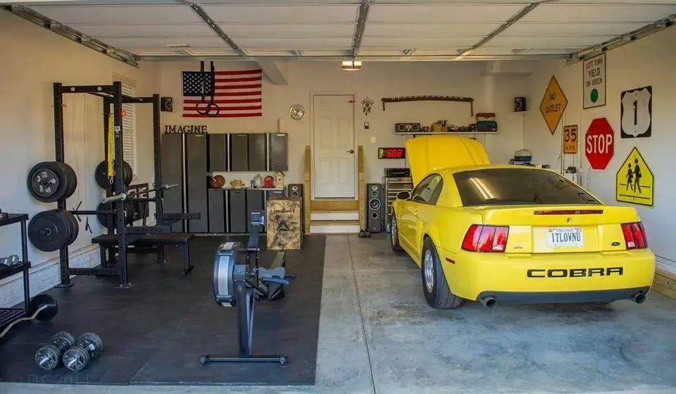 crossfit garage gym, Crossfit garage, man cave