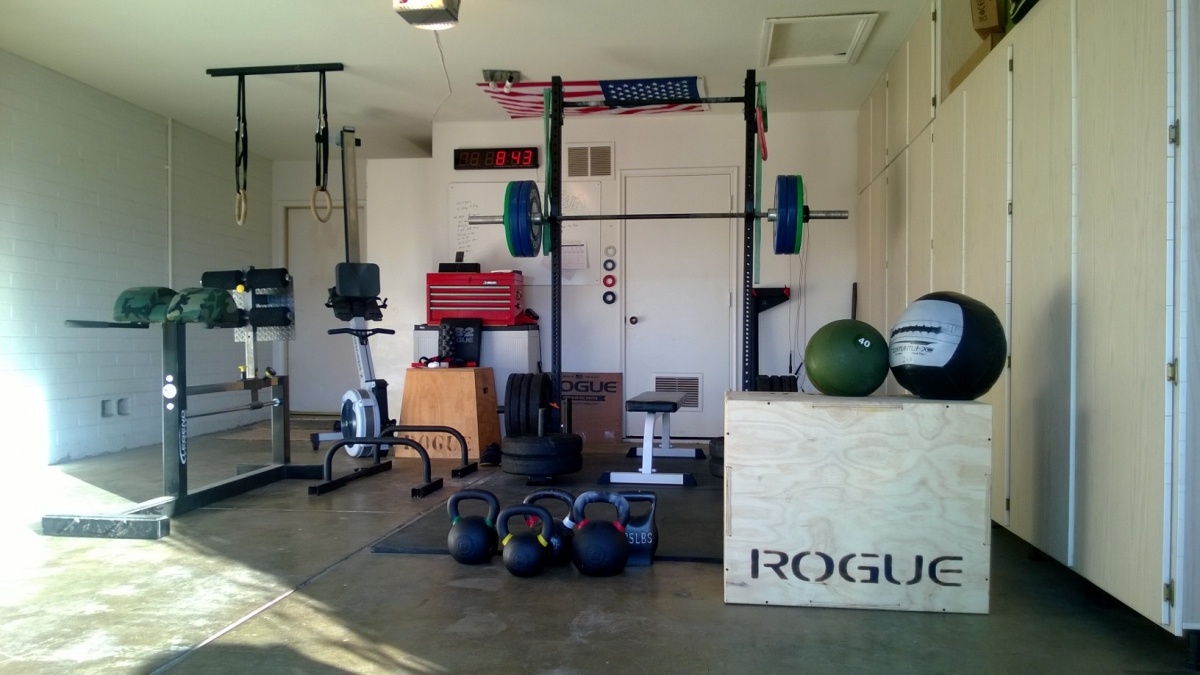 Crossfit Garage Gym Complete Setup